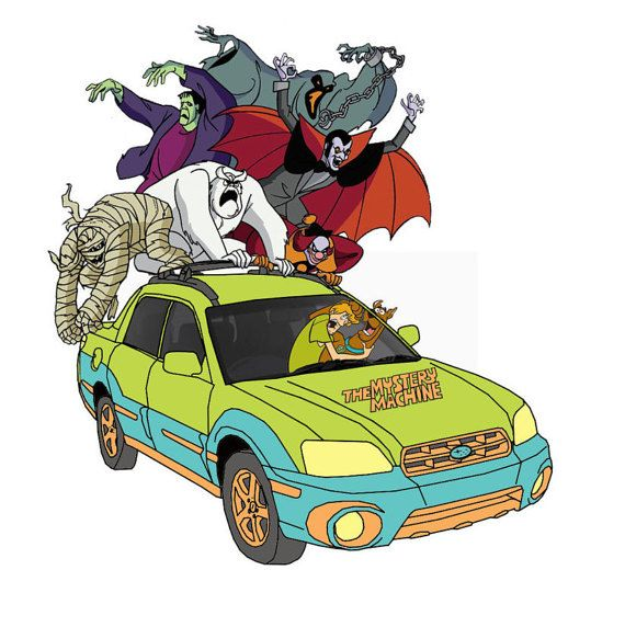 Subaru Baja Window Decal Happy Scooby or Scared Scooby and Shaggy with Monsters Window Decal Customizable https://www.etsy.com/listing/279873916/subaru-baja-scooby-withwithout-monsters?ref=related-5