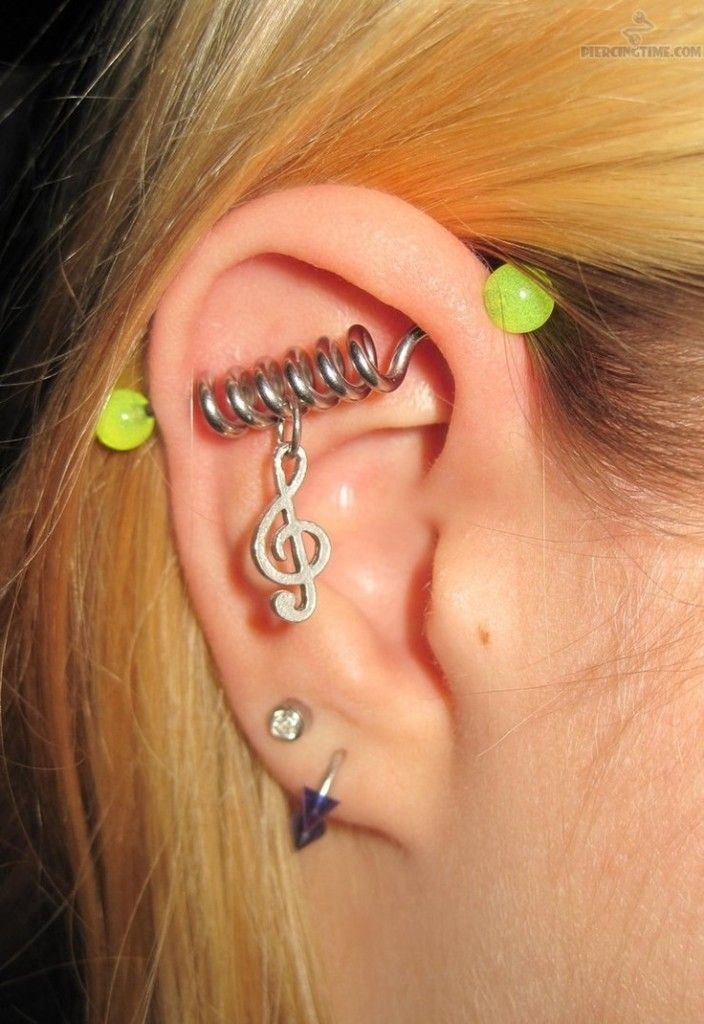 43 Best Images About Cute And Fun Ear Piercing Ideas On