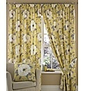 Samantha Lined Pencil Pleat Curtains