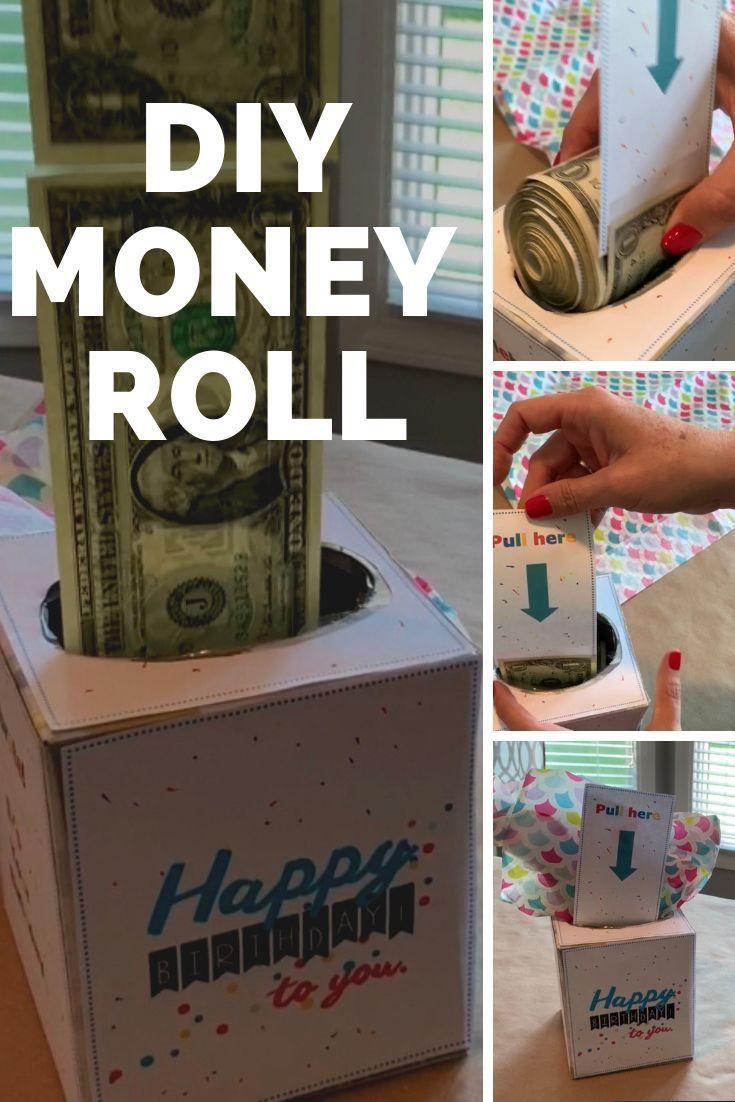 Birthday money box gift idea birthday money creative