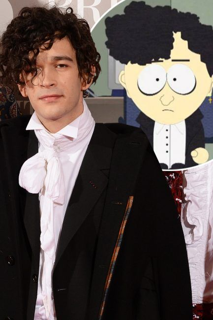 BRIT Awards 2017: The 1975's Matt Healy 'dead ringer' for South Park goth kid character | 24 hours news