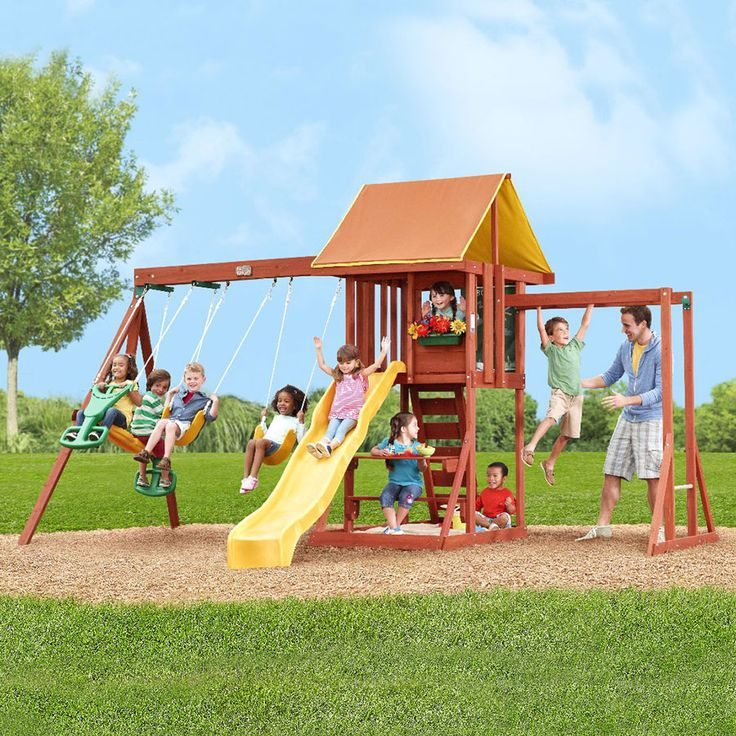 Outdoor Play Toys : Best images about playgrounds for backyard on pinterest