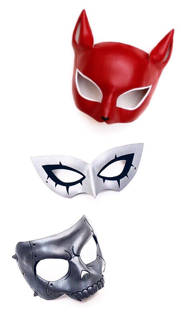 Persona 5 Cosplay Masks Persona 5 Mask Persona 5 Persona