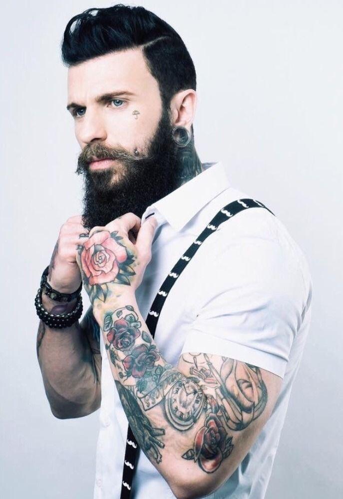 3ee980c38 Pin by Hugh Jardon on Tattoo You   Beard styles, Hipster beard, Hair, beard  styles