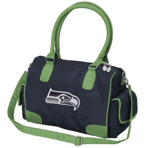 Seattle Seahawks Women's Deluxe Handbag Purse