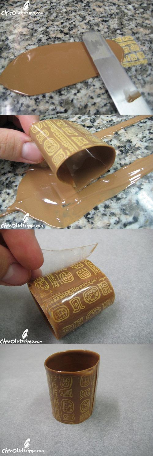 How to make chocolate tubes?