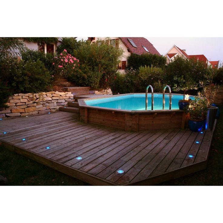 1000 ideias sobre piscine bois rectangulaire no pinterest mini piscina pi - Piscine hors sol prix discount ...