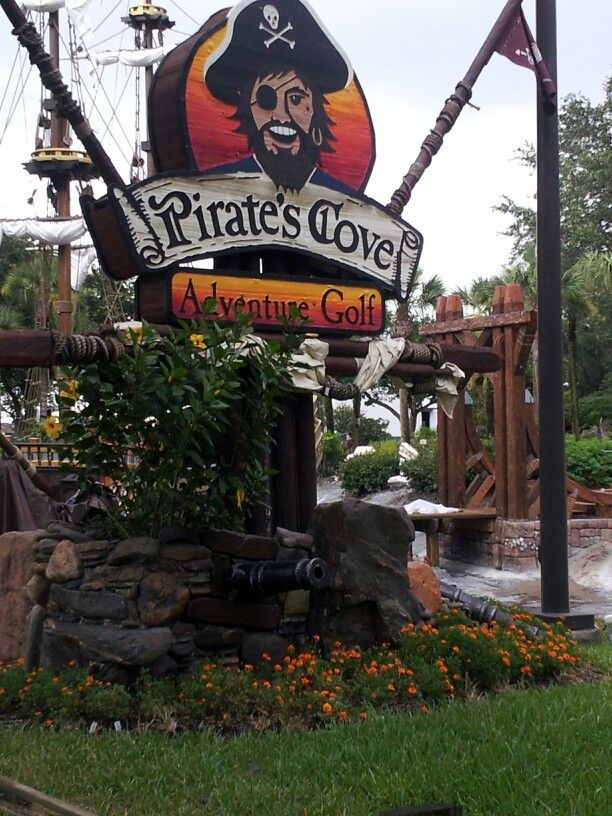 International Drive  Orlando, Florida OH MY GOSH I REMEMBER PLAYING MINI GOLF HERE WHEN I WAS LITTLE!!!