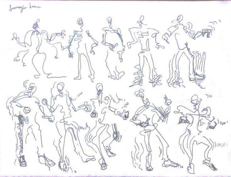 프리스타일 춤을 추는 한 댄서의 연속적이고 빠른 동작들을 설명적이고 순차적인 방식으로 담았다. 과격하고 과감한 동작이라기보단 섬세한 동작이었다.