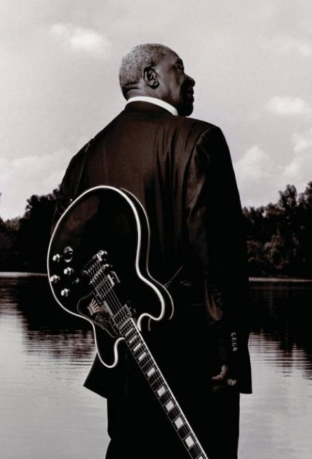 B.B. King with Lucille.