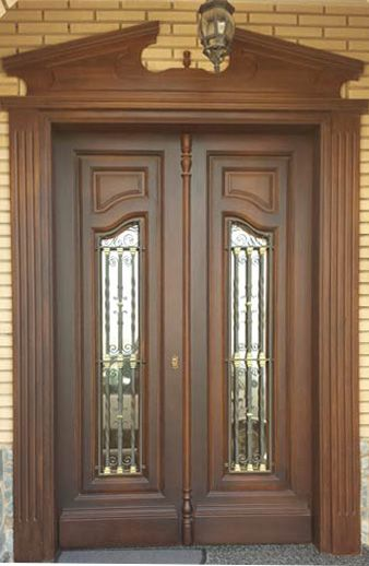 17 best images about puertas principales portones on for Puertas principales