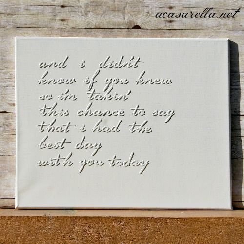 Best 25 lyrics on canvas ideas on pinterest sunflower canvas foam letters canvas spray paint and song lyrics and you got yourself awesome solutioingenieria Choice Image