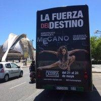 Publicidad autobús turístico Valencia - La fuerza del destino