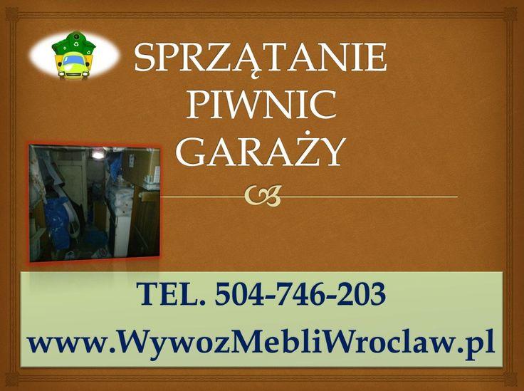 Opróżnianie piwnic we Wrocławiu, tel 504-746-203, wywóz mebli, starych rzeczy z piwnicy, pomieszczenia. Opróżnianie piwnic Wrocław. Oferujemy usługi - sprzątanie piwnic, wywożenie rzeczy, klamotów, gratów.Firma sprzątająca, usługi sprzątania tel 504-746-203. http://wywozmebliwroclaw.pl/