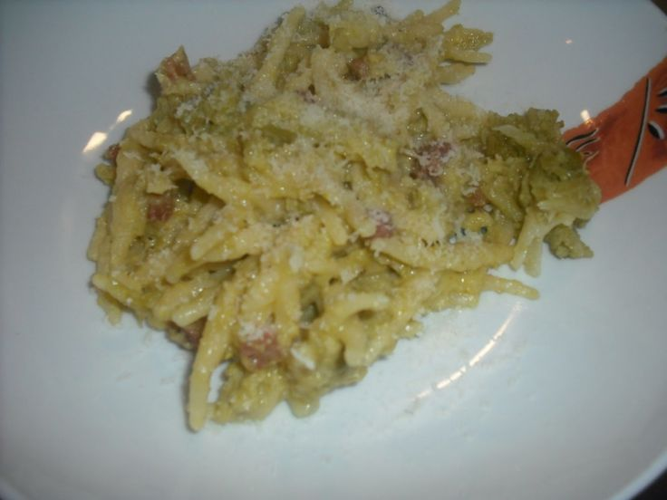 carbonara-con-broccolo-romanesco - Ricette con verdure invernali