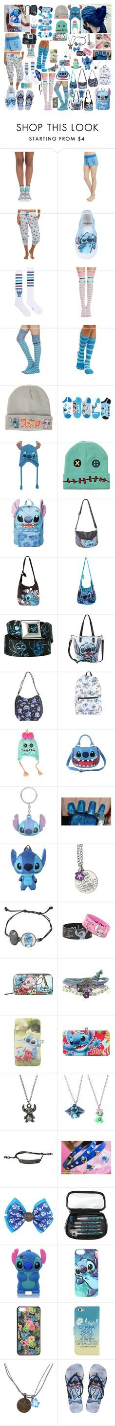 """Lilo and Stitch"" by cupcake125 ❤ liked on Polyvore featuring Disney and Korres"