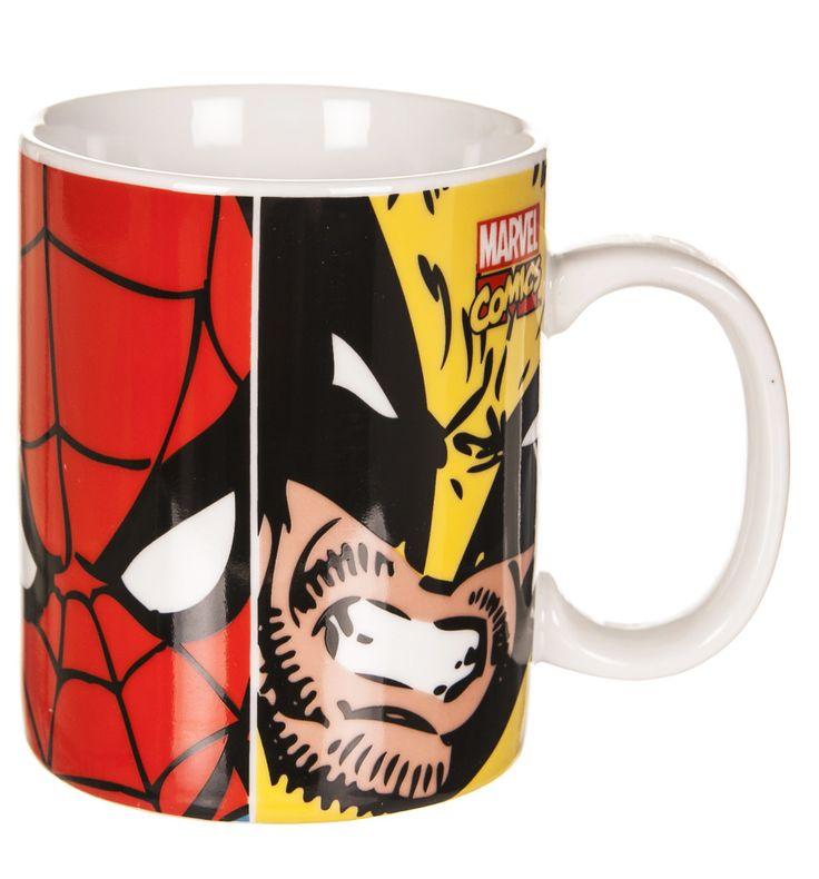 #Marvel #Comics Characters Face Off #Mug xoxo