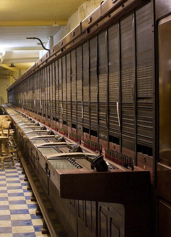 Vintage Russian switchboard
