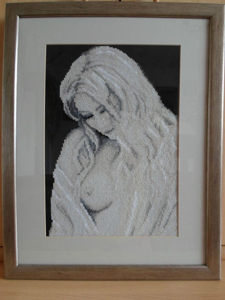 RIOLIS COUNTED CROSS STITCH - SEXY LADY (18.5 x 14.5 inch), (47 x 37cm)