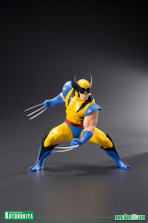 Marvel Universe X Men 92 Wolverine Jubilee Two Pack Artfx Statue Marvel Artfx Artfx X Men Wolverine Marvel