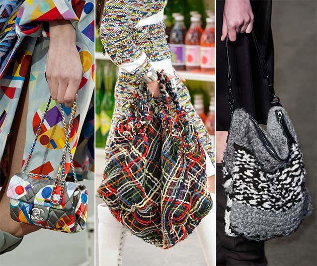 Fall/ Winter 2014-2015 Handbag Trends: Textile Bags  #bags #bagtrends #trends