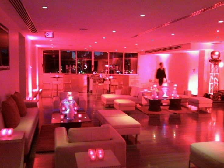 Lounge seating with uplighting. Corporate holiday party at The Clayton on the Park in the hear of Downtown Scottsdale, AZ. www.theclaytononthepark.com #HolidayParty #Corporate #ClaytononthePark