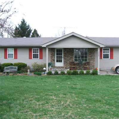 Top 24 ideas about curb appeal on pinterest front for Ranch house curb appeal