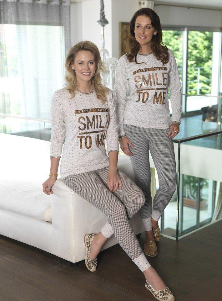 Smile Nakış Bayan Tayt Takımı 79.90 TL    Fantasy Bayan Pijama 2014/15 Sonbahar-Kış Koleksiyonu http://www.camasirim.com/marka/fc-pijama-1-2939