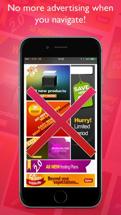 Block Advertising On Internet Productivity iPhone App $0.99...: Block Advertising On Internet Productivity iPhone… #iphone #Productivity