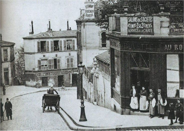 montmartre 1905 rue chevalier de la barre