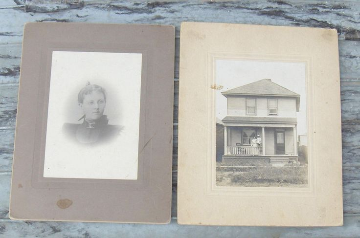 Vintage Photos  Lot of Two