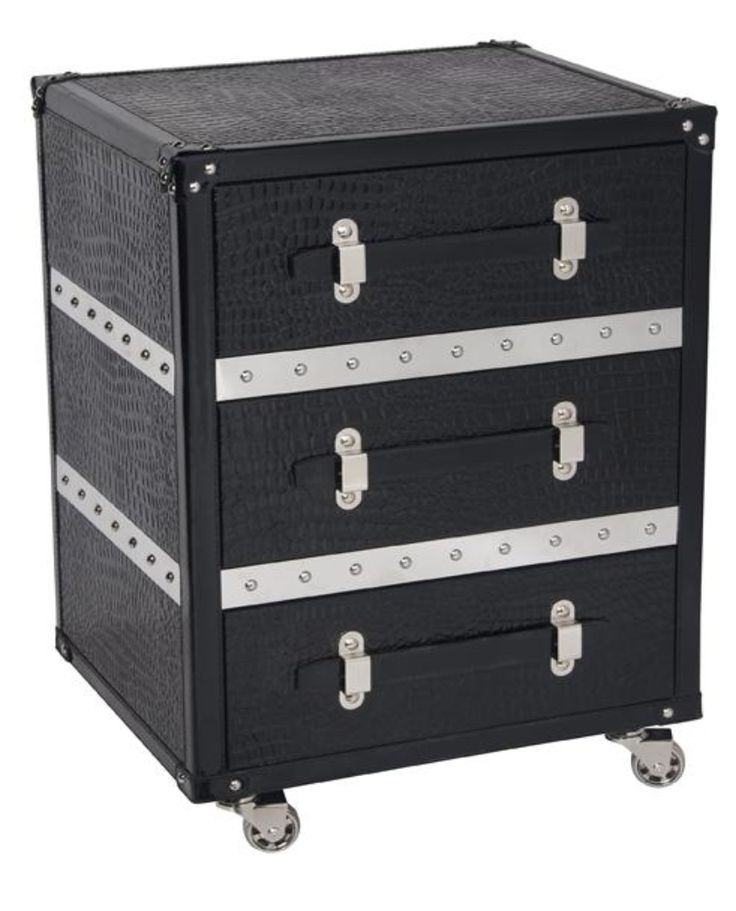 Sutton Bedside Table or Side Table - Trunk Furniture with