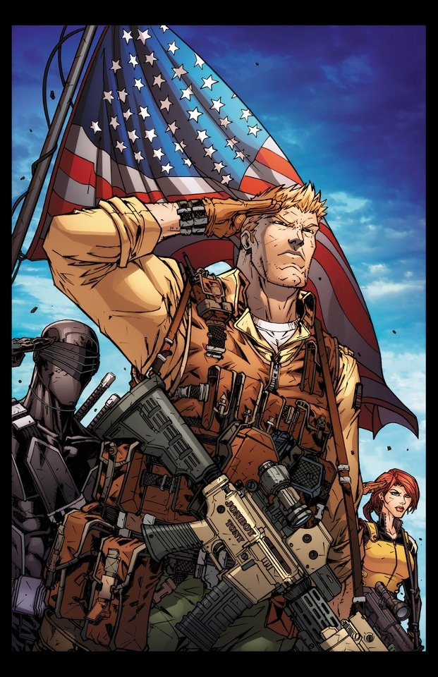 GI Joe - A Real American Hero. The whole reason I joined the Army and stayed for 10 years through Iraq and Afghanistan.