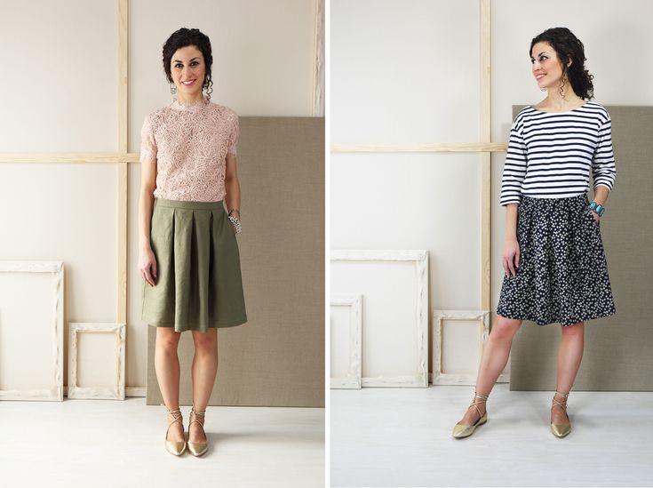 Liesl + Co SoHo Skirt sewing pattern