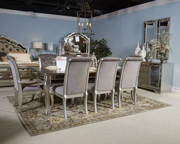 SILVER Dining set- just cool  Signature Design by AshleyBirlannyDining Room Server