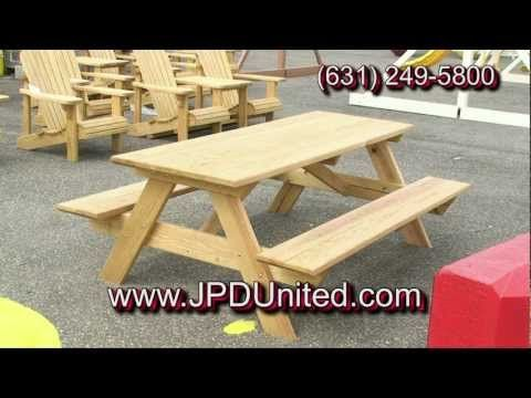 Video 30 - Wooden Picnic Benches for Sale -- JPD United -- Wooden Outdoor Furniture - http://news.gardencentreshopping.co.uk/garden-furniture/video-30-wooden-picnic-benches-for-sale-jpd-united-wooden-outdoor-furniture/