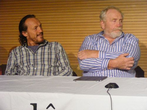 Jerome Flynn & James Cosmo @ 2012 Wales Con - game-of-thrones Photo