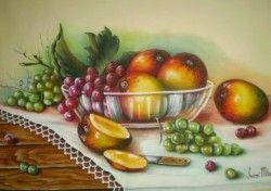 Como Pintar Frutas em Tecido - Aprenda Agora                                                                                                                                                                                 Mais