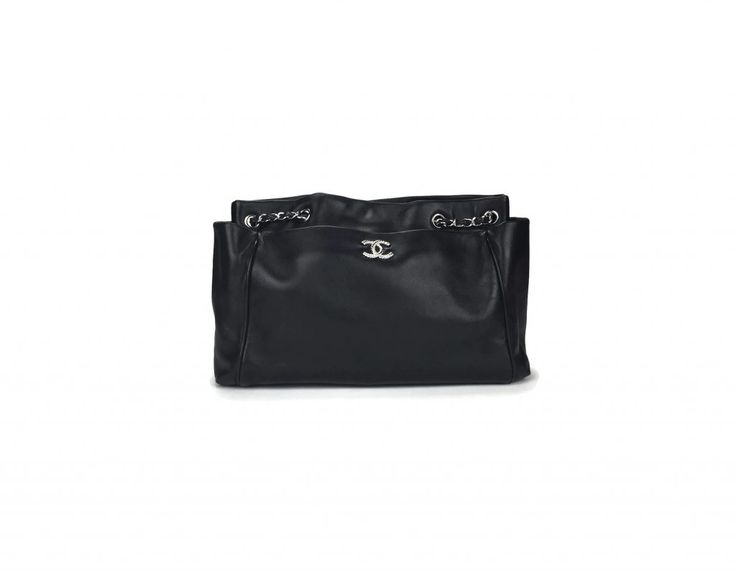 Chanel Lambskin Large Shopping Tote