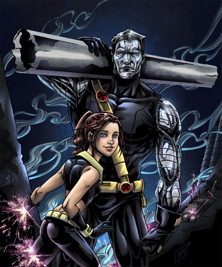 3372 best images about DC, Marvel, Image, etc on Pinterest |Shadowcat And Colossus Child