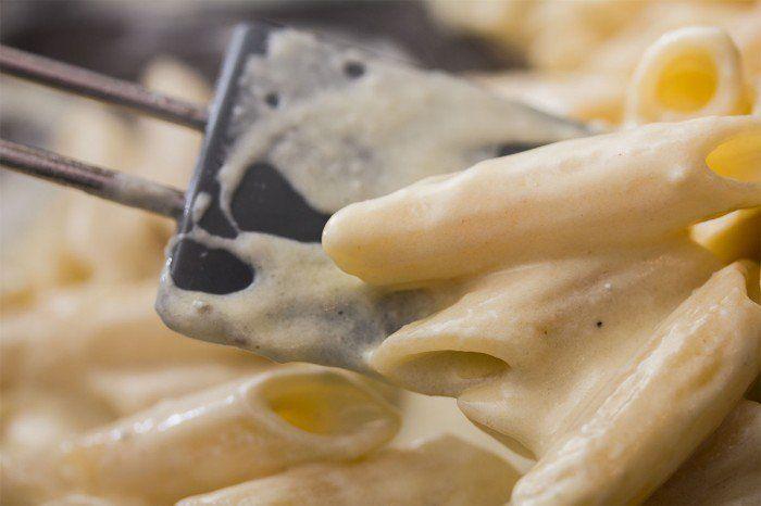 Pasta med blåskimmel sauce