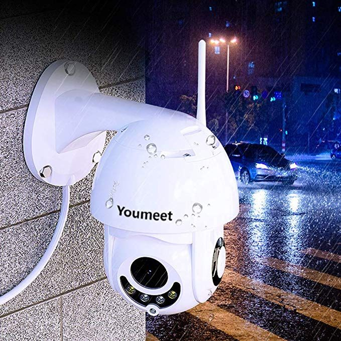 Youmeet WiFi IP Security Camera - 1080P Outdoor Waterproof