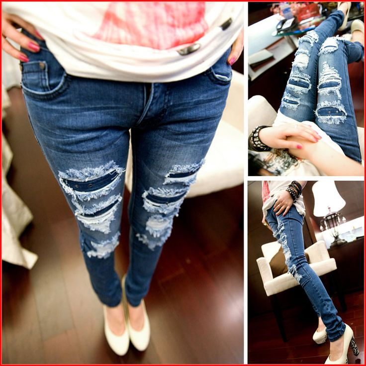 Cheap Jeans on Sale at Bargain Price, Buy Quality jeans cut out ...