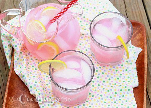 Homemade Pink Lemonade - CookingBride.com