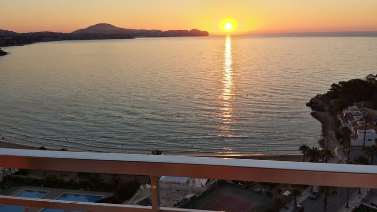 The sunset is magical. www.wonderful-calpe.webs.com