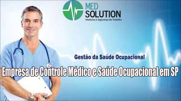 Empresa de Controle Médico e Saúde Ocupacional em SP - Med solution