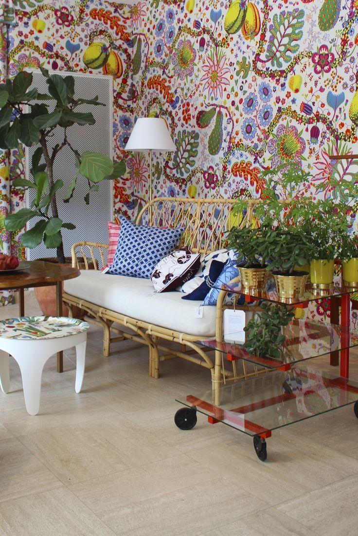 Fleur je huis op met deze vrolijke en kleurige behangetjes