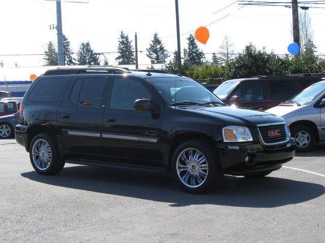 envoy denali silver rims | 2004 GMC Envoy SLT 4WD