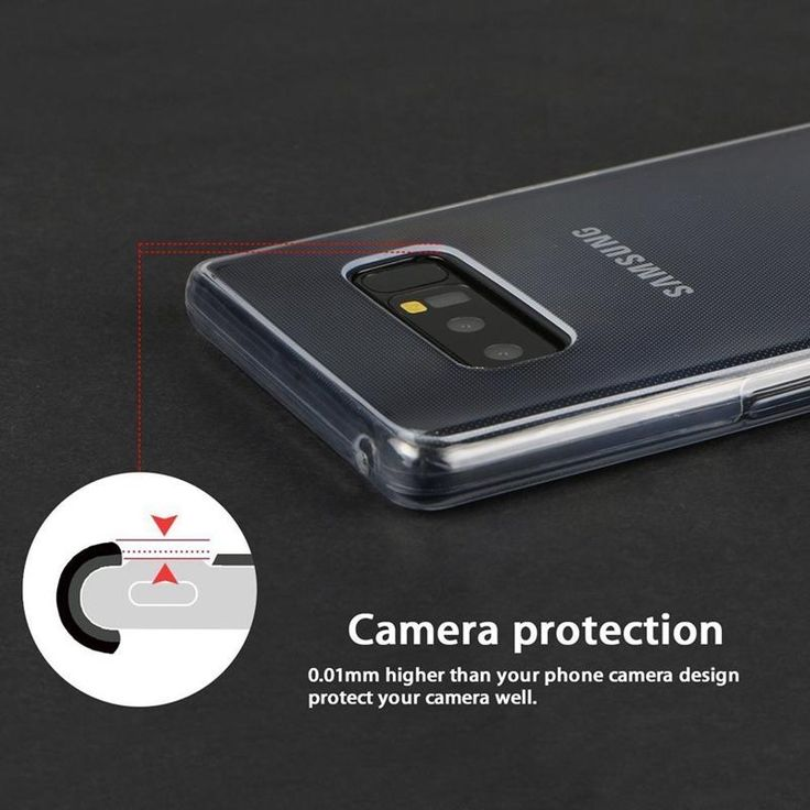 Full Body Clear Touch Screen Case For Samsung Galaxy Note 8 Sale - Banggood.com