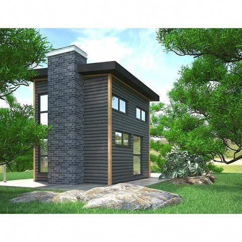Prefab Cottage Kit 1br 1ba 400sf The Europa Modern Prefab Pool House Cabana Modernlandscapedesign Modern Landscape Design Prefab Pool House Cottage Kits Prefab Cottages